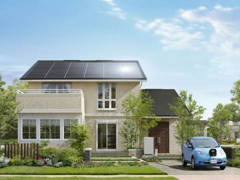EVとPVで電気自給自足の木質系スマートハウスが登場 積水化学が5月より発売
