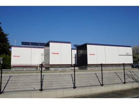 東芝、太陽光で水素を製造・貯蔵する自立型エネルギー供給システム「H2One」稼働スタート