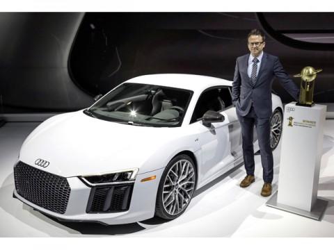 「2016年ワールドベストパフォーマンスカー」にアウディR8、同時に日本100台限定導入