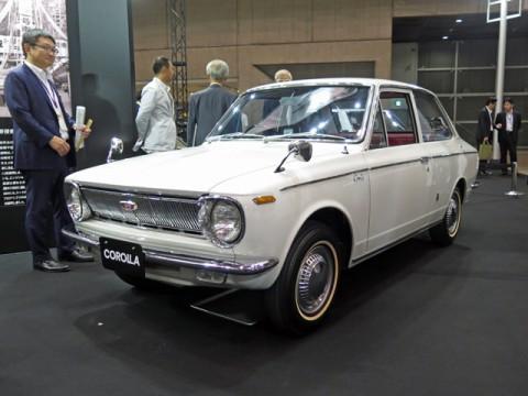 名車概論/「オートモビル・カウンシル」でアピールした50周年「COROLLA 50」初代モデル