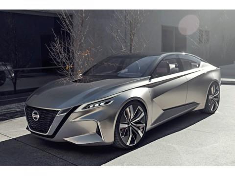 日産、次世代セダンのコンセプトカー「Vmotion 2.0」を世界初公開……デトロイトで