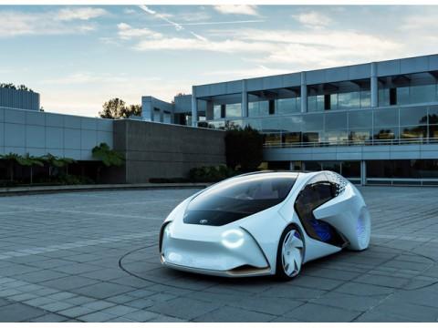 トヨタ、米CESで、自動運転のコンセプトカー「TOYOTA Concept-愛i」世界初公開