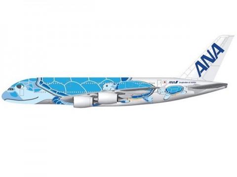 ANAが19年春よりA380投入 特別塗装デザインも決定
