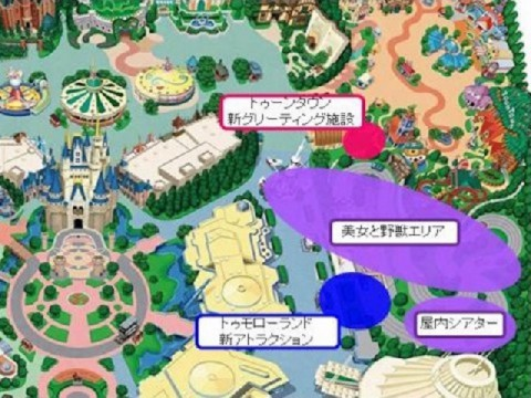 入場者増へ東京ディズニーランドが大規模開発をスタート