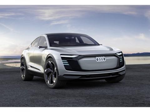電気で走るSUVクーペ「AUDI e-tron SportBag Concept」、上海ショーで初公開