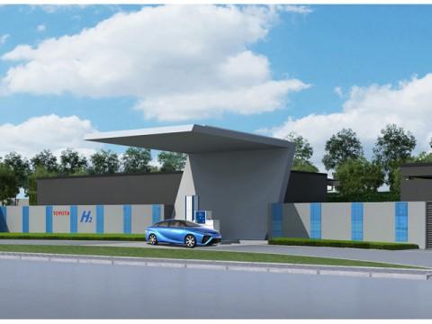 トヨタ、燃料電池車「MIRAI」の実証実験。今度は中国で、水素ステーション建設