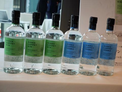 酒類大手、相次ぐ高級ジン市場に新製品投入。アサヒビールはニッカ製高級ジン・ウオッカで