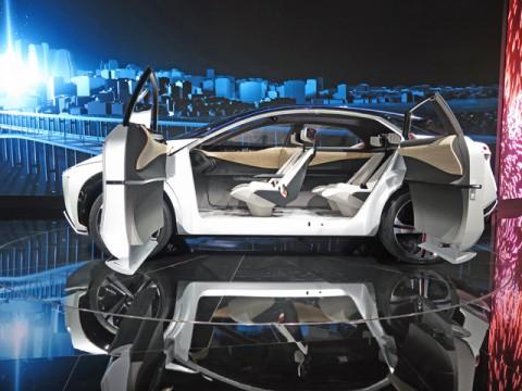 日産「IMx」、自動運転時代を見据えた「クロスオーバーEV」、東京モーターショー