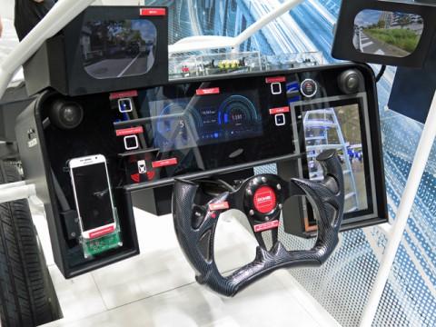 ローム、各種安全運転支援システムのためのキーデバイスを搭載したデモ機