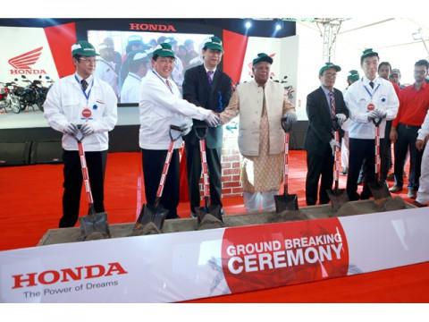 グローバルで二輪車販売が好調なホンダ、バングラデシュに新工場建設