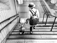 画・母子家庭、123万世帯、44%か_非正規、年収200万円
