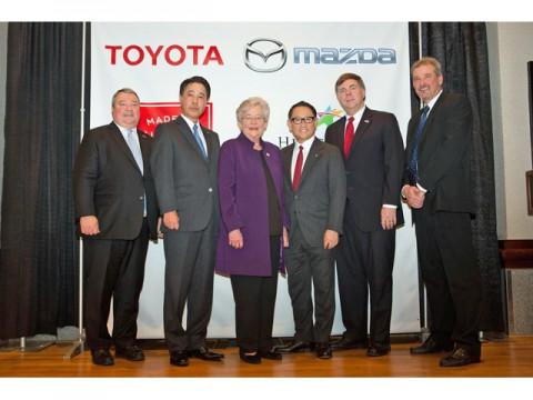 トヨタとマツダ、共同で米国に建設する新工場はアラバマ州ハンツビル市に