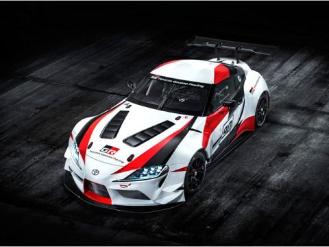 トヨタ、新型スープラのレーシングコンセプト公開、ジュネーブショーで