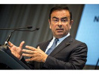 Nissan CEO Carlos Ghosn at Nissan Headquarters.