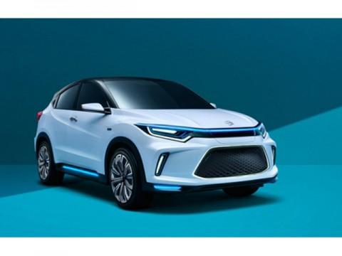 ホンダ、中国専用電気自動車のコンセプトカー「理念 EV CONCEPT」発表