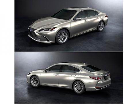 レクサス、日本で秋に初導入となる新型「ES」を北京モーターショーで公開