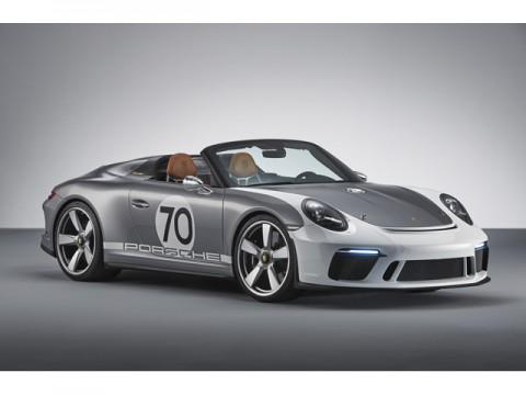 ポルシェ、500ps超のオープントップ、911スピードスターコンセプト発表