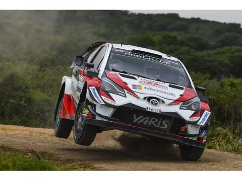 WRC第7戦、全車完走したチームトヨタ。ラッピ選手が初の表彰台に