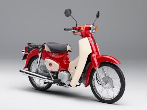 ホンダ・スーパーカブ誕生60周年記念、期間限定モデル発売、10月末まで