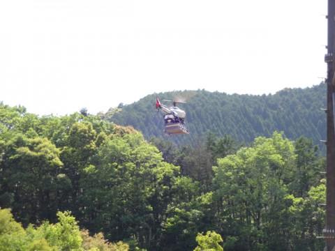 ヤマハ、事業用無人ヘリの事業実用化に目途、工事用資材運搬事業開始