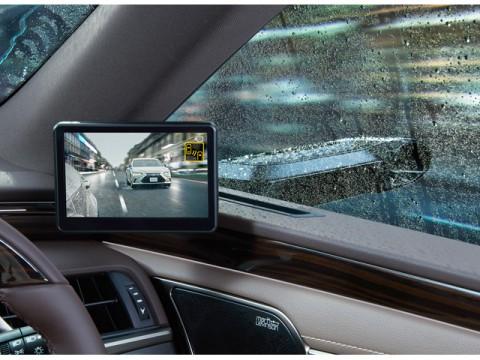レクサス、量産車初デジタルアウターミラー採用、新型「LEXUS ES」に搭載