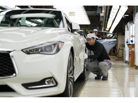 日産自動車、高価格帯FR車の生産を行なう栃木工場の操業50周年達成