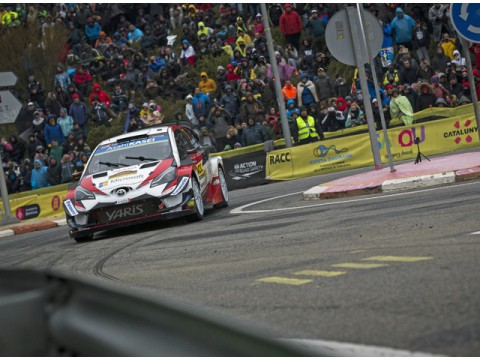 TOYOTA WRCチーム、ラリースペインを終えマニュファクチャラー選手権首位を維持