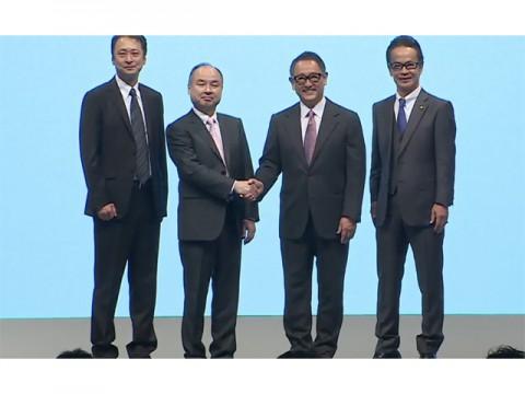 ソフトバンクとトヨタ、新しいモビリティサービス構築に向け共同出資会社設立