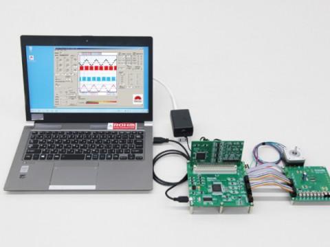 業界初! ロームがPC と電源1 つで完結できるモータドライバ評価ツールを開発