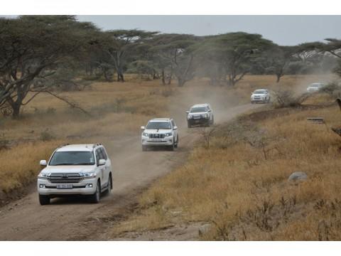 「トヨタ5大陸走破プロジェクト」アフリカ走破を終え、最後のアジア走破に向かう