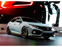Civic Hatchback Prototype at Geneva Motor Show 2016