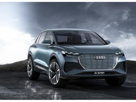 アウディ、ミッドサイズSUVの電気自動車「Audi Q4 e-tron concept」を公開