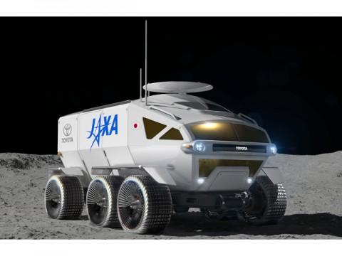 JAXAとトヨタ、国際宇宙探査ミッション挑戦で合意、月探査機「有人与圧ローバ」公開