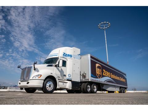 トヨタ燃料電池車、米国カリフォルニア州ロサンゼルスでFC大型貨物車の実証