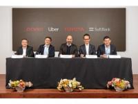 Toyota Uber SoftBank