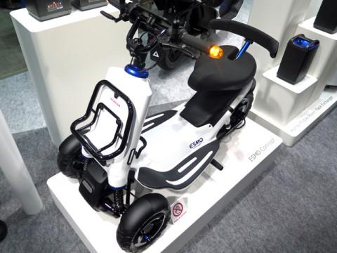 ホンダ、とっても気になる電動3輪モビリティのコンセプト「ESMO」世界初公開