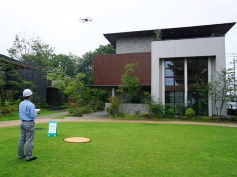 「便利」だけではない。住宅業界初の点検システムが示す、ドローンの可能性