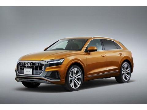 アウディ、新開発の最上級フルサイズSUV、Audi Q8を販売開始、1010万円から