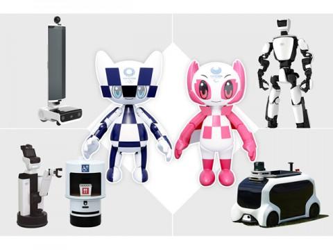 トヨタ、オリンピック・パラリンピックに向けた専用ロボット開発、公開