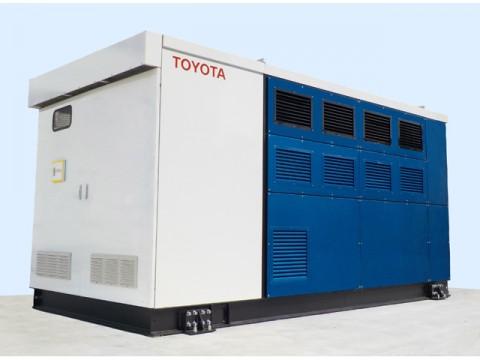 トヨタ、FCVのシステムを利用した燃料電池発電機を開発、本社工場で実証開始