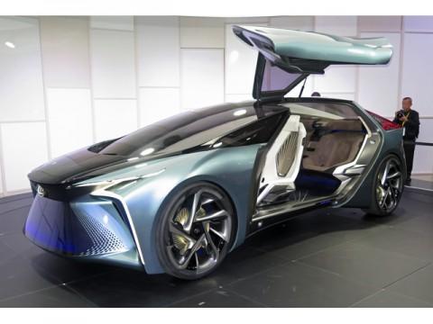 レクサス、2025年には全車種に電動車を設定を目指したEVコンセプト、TMSで公開