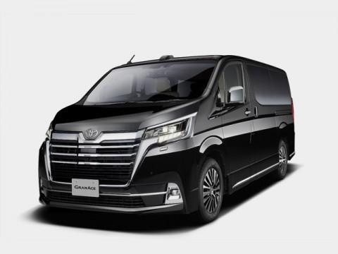 トヨタ、上質快適な移動空間を提供するフルサイズワゴン「グランエース」発売予定