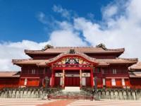 写・官房長官 首里城再建へ財政措置を発表