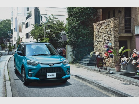 トヨタ、新型の5ナンバーサイズSUV「ライズ」の受注が絶好調