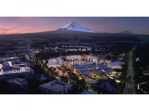 トヨタ、富士山裾野に実証実験都市建設開始、CES2020で社長自ら概要を発表