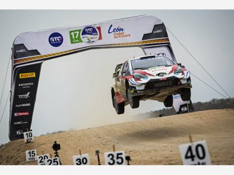 WRC第3戦ラリー・メキシコ、トヨタ所属としてセバスチャン・オジェ選手初優勝