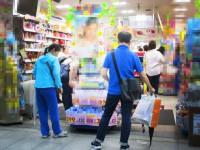 画・ドラッグストア販売。インバウンドが6割減少。感染対策商品で2割増加。