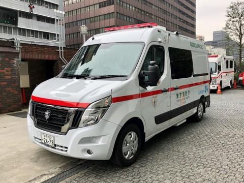 日産のゼロエミッション・ピュアEV救急車が東京消防庁で稼働開始
